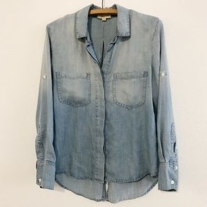 Cloth & Stone Chambray Button Down Shirt